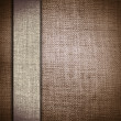 Grunge brown fabric with bar as vintage background for insert text or design — Stock Photo #9382944