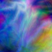 Textura abstracta azul y arco iris — Foto de Stock