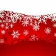 Christmas abstract background — Imagen vectorial