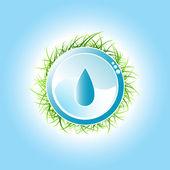 красивый дизайн окружающей среды — Cтоковый вектор