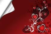 Beautiful Valentine´s day background — Stock vektor