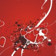 Royalty-Free Stock Vector Image: Valentine beautiful abstract illustration