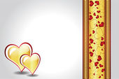 Vackra valentine design illustration — Stockvektor