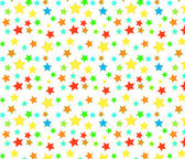 Seamless background multi-colored stars. — Stock Vector