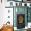Stock Photo: Old fashioned stove