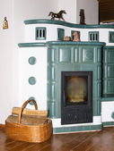 Old fashioned stove — Stock Photo