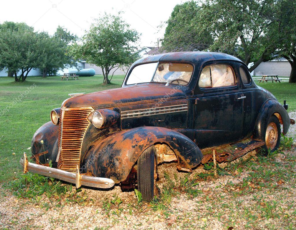Car Paint Surface Rust