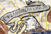 E pluribus unum — Stock Photo