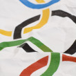 ������, ������: Olympic games flag detail