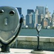 Stock Photo: NY binnoculars