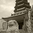 Stock Photo: Seven Level Pagoda