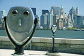 NY binnoculars — Stock Photo