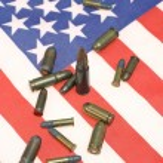 American ammunition — Stock Photo