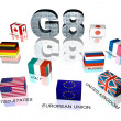 Great Eight flags — Stock Photo #10367010