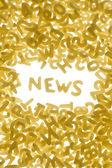 NEWS concept — Stock Photo