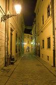 Historic street — Stock Photo