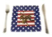 American theme — Stock Photo