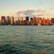 Manhattan cityscape - Stock Photo