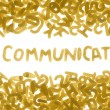 COMMUNICATE — Stock Photo