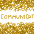 COMMUNICATE — Stock Photo #10679074