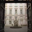 The Primate's Palace courtyard - Stock Photo