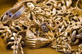 Collane d'oro — Foto Stock