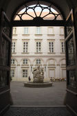 The Primate's Palace courtyard — Stock Photo