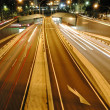 Stock Photo: Night tunnel traffic