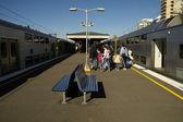 Train station — Stock Photo