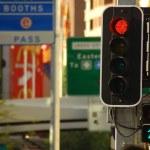 Street city lights — Stock Photo