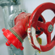 Stock Photo: Red fire tap