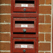 Mail boxes — Stock Photo