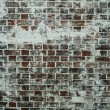 Painted old brick wall — Stock Photo