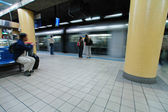 Metro station — Stockfoto
