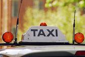 Taxi taxi — Stock Photo