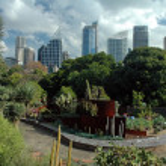 Sydney Gardens — Stock Photo