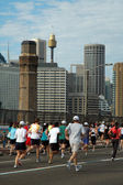 Sydney marathon — Stock Photo