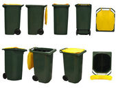 Garbage bins — Foto Stock