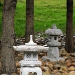 Buddhist mini sculptures — Stock Photo