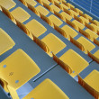 Stadium seats — Stock Photo #8365768