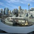 View from darling harbour — Stockfoto #8366030