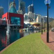 Darling harbour in sydney — Stockfoto #8498759