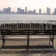 Stock Photo: Jersey city from manhattan