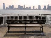 Jersey city från manhattan — Stockfoto