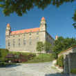 Bratislava slott — Stockfoto