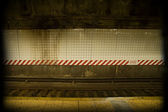 Dirty subway — Stock Photo