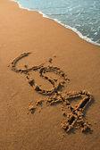 Spiaggia USA — Foto Stock