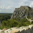 Devin castle panorama — Stock Photo