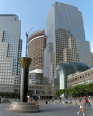 World trade and financial center — Stock Photo