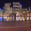 Stock Photo: Darling harbour panorama